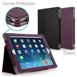 [CORNER PROTECTION] CaseCrown Bold Standby Pro Case (Purple) for iPad 4th Generation with Retina Display