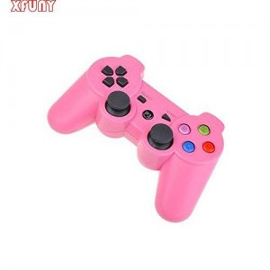 XFUNY ElementDigital(TM) Lovely Pink PS3 Wireles Dual Shock Playstation 3 Six Axies Bluetooth Controller- Generetic / 3RD Party