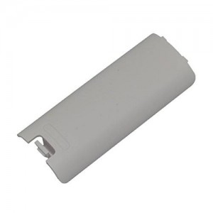 Cinpel Generic Replacement Remote Controller Battery Cover for Nintendo Wii White