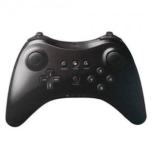XFUNY(TM) New Wireless Game Classic Pro Controller Remote Pro Commander for Nintendo Wii U-Black