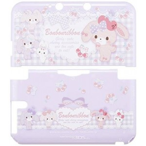 Shishikuiya Nintendo Official Kawaii 3DS XL Hard Cover -Bonbonribbon Cherry-