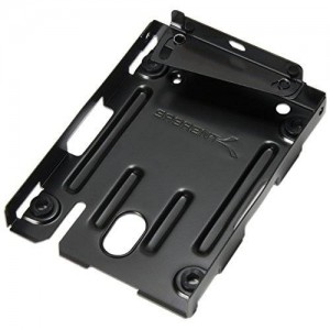 "Sabrent 2.5"" Hard Disk Drive Mounting Kit Bracket for PS3 Super Slim CECH-400x Series (BK-HDPS)"