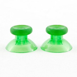 GamerModz Clear Green Thumbsticks Controller Mod for Xbox One