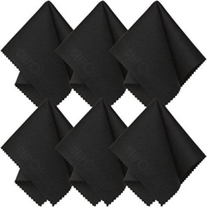 SecurOMax Microfiber Cleaning Cloth (6 Pack) for Lens