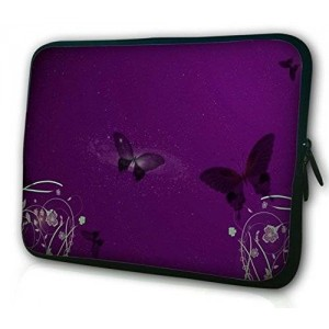 "Waterfly Magic Butterfly 10"" 10.1"" Inch Laptop Notebook Netbook Tablet PC Sleeve Case Bag Pouch Cover for Apple iPad Air 5"