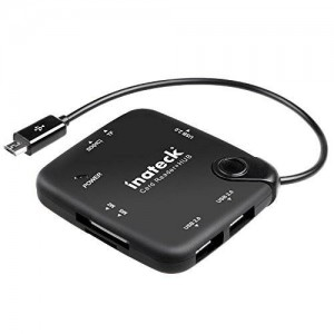 [OTG Hub and SD Card Reader] Inateck Multi-in-1 OTG Adapter Cable