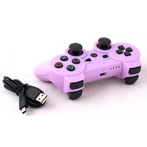 USPRO PS3 Bluetooth 6 Axis Wireless Game Controller Gamepad Joypad Dualshock with Charging Cable for SONY Playstation 3