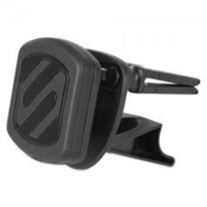 SCOSCHE Magnetic Car Mount for Universal/Smartphone, GPS, iPod, iPad, Tablets - Retail Packaging - Black