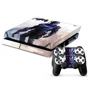 Mod Freakz PS4 Console and Controller Vinyl Skin Decal Suited Fighter Zone