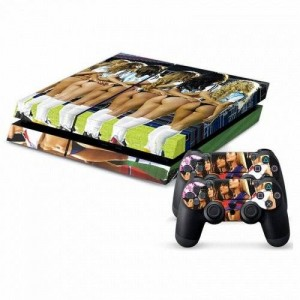 Mod Freakz Parental Advisory Designer Vinyl Skin for Gaming Console and Free Controller Sticker Decal for PS4 (Thong Beauties Sport Girls)