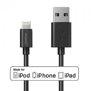 Apple MFi Certified 8 Pin Lightning To USB Cable by Gembonics 3ft Sync and Charger with Ultra-Compact Connector for iPhone 6 6Plus