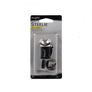 Nite Ize Steelie Vent Ball Mount Component - Retail Packaging - Black