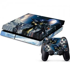 Mod Freakz PS4 Console and Controller Vinyl Skin Decal Snow Mount Warrior