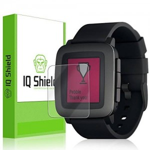 IQShield IQ Shield LiQuidSkin (6-Pack) - Pebble Time Screen Protector w