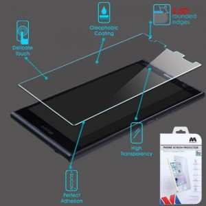 MYBAT Tempered Glass Screen Protector (2.5D) for ZTE Z787 (Grand X Max)
