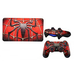 Arrela Spiderman Fashionable Sticker Decal for PS 4 Controller