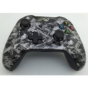 E-MODS GAMING Custom Hydro Dipped Xbox One Controller Shell - Gun Design