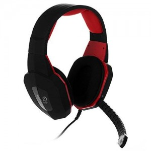 HAMSWAN Multifunctional Wired Stereo Gaming Headset Surround Sound for Pro Gamers with Plug-in Microphone Noise Cancelling for PC Mac PS3 PS4 Xbox 360 Xbox One