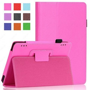 Fire HD 7 Case (2014 Oct Release) SAWE Case Slim Fit Leather Standing Protective Case Cover with Auto Sleep