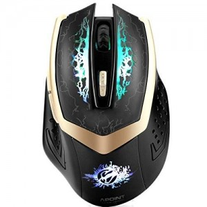 SROCKER G600S Professional 2.4GHz Rechargeable Wireless Gaming Mouse