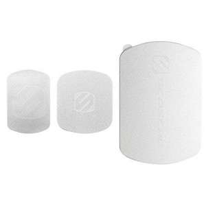 Scosche MagicMount Magnetic Mount Replacement Kit- Silver