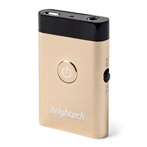 Brightech™ - BTX Ultra - 2 in 1 Bluetooth Receiver and Transmitter with aptX Low Latency for Lag Free Transmission between Audio and Video