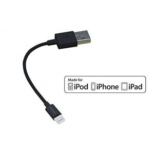 [Apple MFi Certified] HomeSpot 5 inches (13 centimeters) Lightning USB Cable