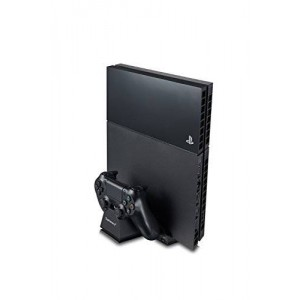 Supremery Vertical Stand with Cooling Fans for PlayStation 4 Console