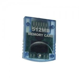 GOCOMCOM 512MB Memory Card compatible for Wii and Gamecube