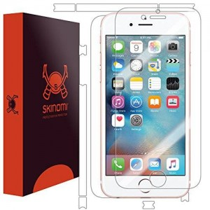 """Skinomi TechSkin - Apple iPhone 6S 4.7"""" Screen Protector + Full Body Skin Protector with Free Lifetime Replacement"""