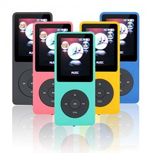 Lonve 8GB Big and Clear Lossless Sound Music MP3 MP4 Player With Expandable MicroSD Slot-Green