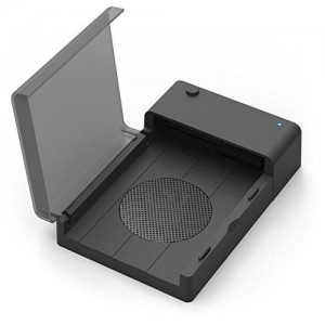 Sabrent USB 3.0 to SATA External Hard Drive Lay-Flat Docking Station with Built-in Cooling Fan for 2.5 or 3.5in HDD