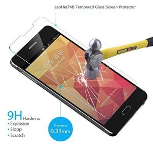 Note 4 Screen Protector, LaoHe(TM) Premium Tempered Glass Screen Protector Film for Samsung Galaxy Note 4-(1Pack)