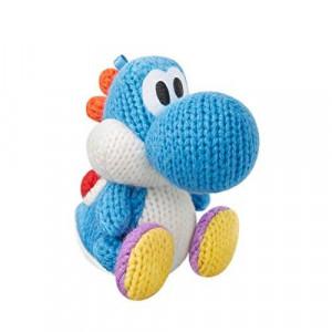 Nintendo Light Blue Yarn Yoshi Amiibo (Yoshi's Woolly World Series)