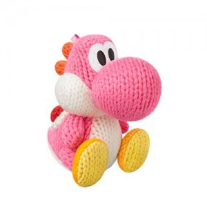 Nintendo Pink Yarn Yoshi Amiibo (Yoshi's Woolly World Series)
