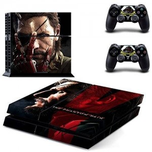 CloudSmart Metal Gear Solid V 5: The Phantom Pain Ps4 Skin Sticker Cover For Playstation 4 Console + Controller Decal