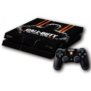 CloudSmart PVC Protection Decal Skin Cover Case Sticker For PS4 Playstation 4 Console x1 and Controllers x2 - Call of Duty: Black ops 3