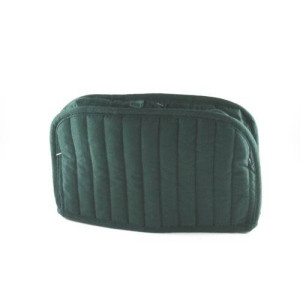 Ritz Quilted Two Slice Toaster Cover, Dark Green