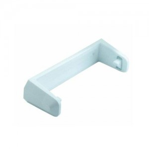 Rubbermaid Cabinet Door Mounted Easy-Change Paper Towel Holder, White Easy Change (FG2364RDWHT)