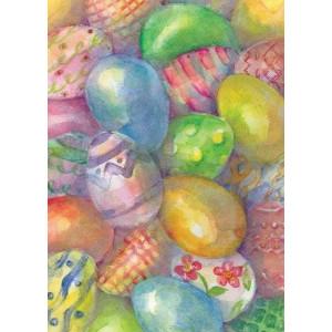 Toland Home Garden Easter Eggs 12.5 x 18-Inch Decorative USA-Produced Garden Flag