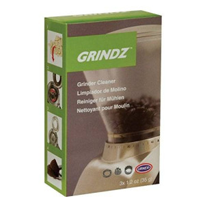 Urnex Grindz Tablets, 3 Single Use Coffee Grinder Cleaner Tablets