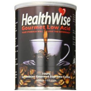 Healthwise Low Acid Columbian Gourmet Supremo Coffee, 12 Ounce
