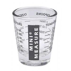 Kolder Mini Measure Multi-Purpose Liquid and Dry Measuring Shot Glass