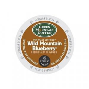 Green Mountain Coffee Green Mountain Wild Mountain Blueberry, 24-Count,0.33 Oz EA Net Wt. 7.9 Oz.