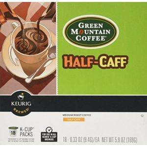 Green Mountain Coffee Half Caff - 18 ct