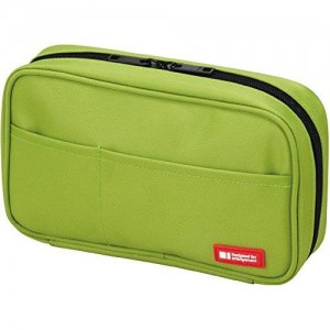 LIHITLAB Lihit Lab Teffa Pen Case - Book Style - Yellow Green (japan import)