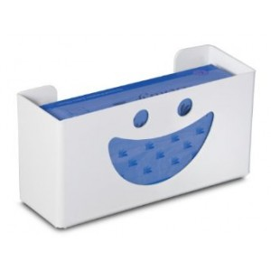 "TrippNT 50827 Priced Right Single Glove Box Holder with Smiley Face, 11 "" Width x 6"" Height x 4"" Depth"