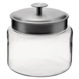 Anchor Hocking Montana Storage Jar, Glass, 64-Ounce