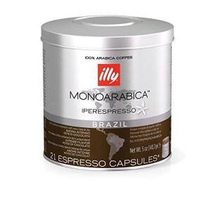 Illy Caffe Monoarabica Brazil Iperespresso Coffee Capsules