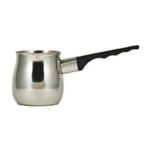 Update International 12 Oz. (Ounce) Turkish Coffee Decanter, Espresso Decanter, 18/8 Gauge Stainless Steel, Barista Coffee Decanter Pitcher